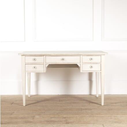 20th Century Swedish Bleached Oak Desk DA4414106