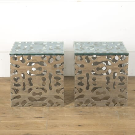 20th Century Art Nouveau Style American Side Tables TC2810515