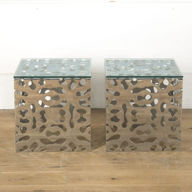 20th Century Art Nouveau Style American Side Tables TC2810515