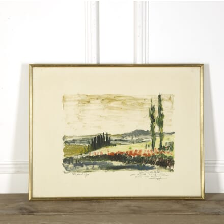20th Century French Landscape Painting WD379655