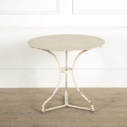 20th Century French Metal Garden Table GA1510468