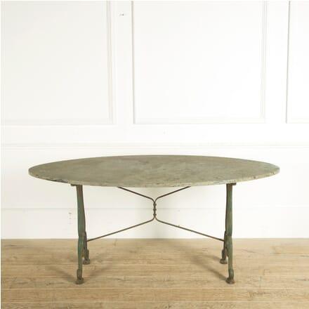 19th Century Oval Garden Table GA529783