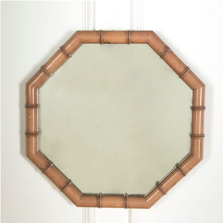 20th Century Painted Faux Bamboo Mirror MI639882