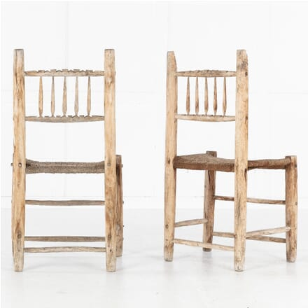 Pair of Spanish 19th Century Side Chairs CH0613722