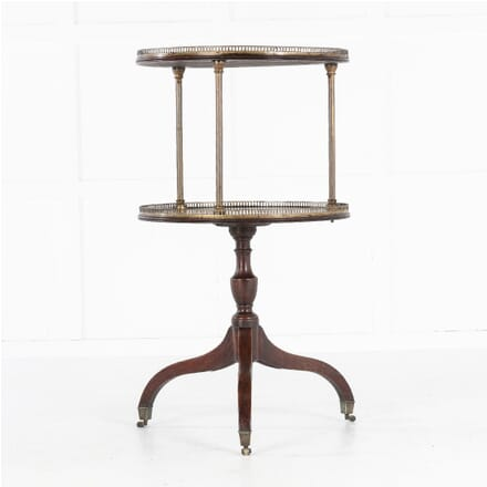 19th Century English Two Tier Dumb Waiter CO0613725