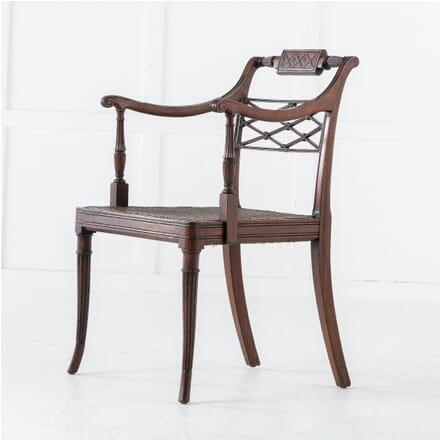 Early 19th Century Regency Mahogany Desk Chair CH0613136
