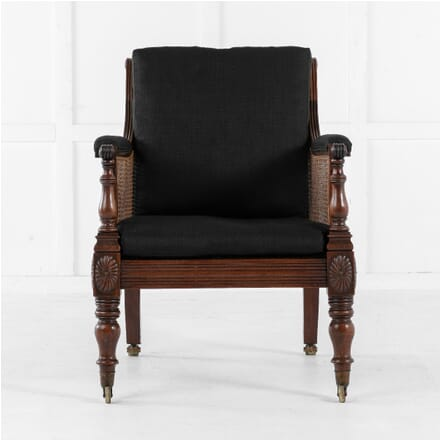 Early 19th Century English Mahogany Library Chair CH0613046