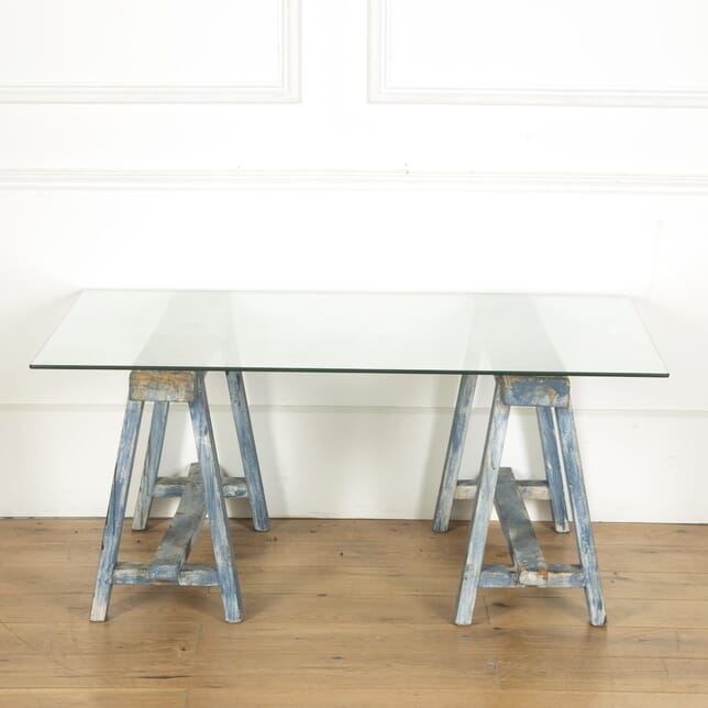 A Pair of Old French Trestles CT717276