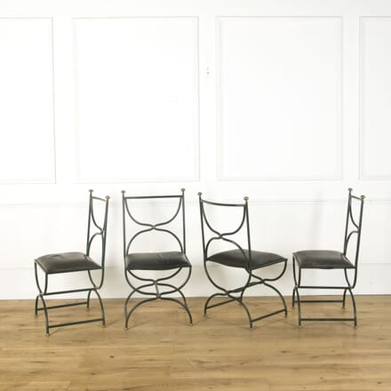 4 French Maison Jansen Chairs CD379526