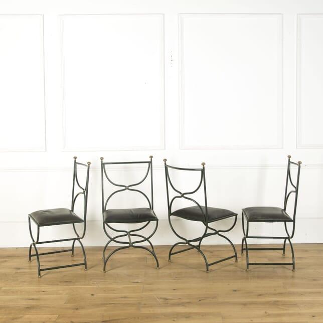 4 French Maison Jansen Chairs CD379526