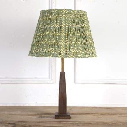40cm Blue and Green Chevron Cotton Lampshade DA6614137