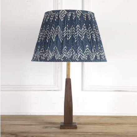 40cm Indigo Chevron lampshade LS6614028