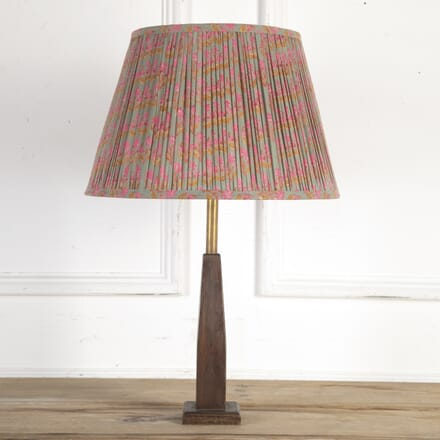 40cm Pink & Teal Floral Cotton Lampshade DA6614135