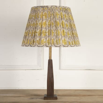40cm Yellow Yoyo Cotton Lampshade LS6614030