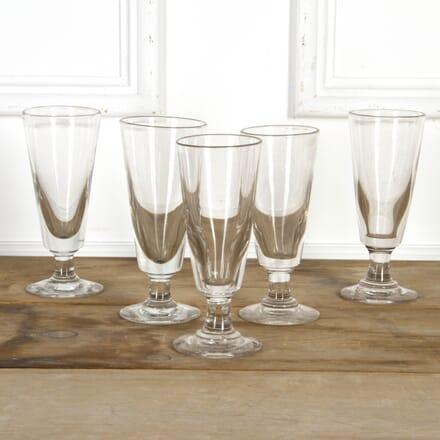 Set of Five Absinthe Glasses DA7117680