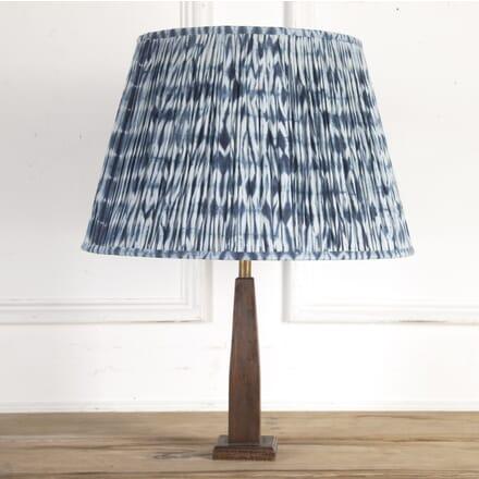 50cm Indigo Shibori Cotton Lampshade DA6614200