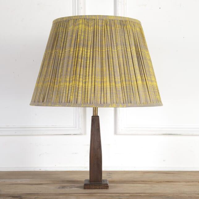50cm Mustard Splatter Cotton Lampshade DA6614206