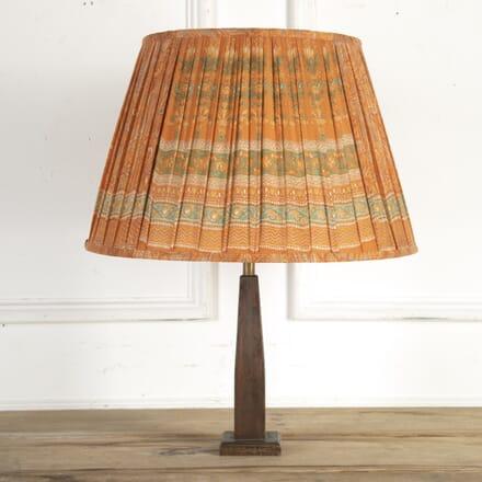 50cm Orange Paisley with Aqua Silk Lampshade DA6614199