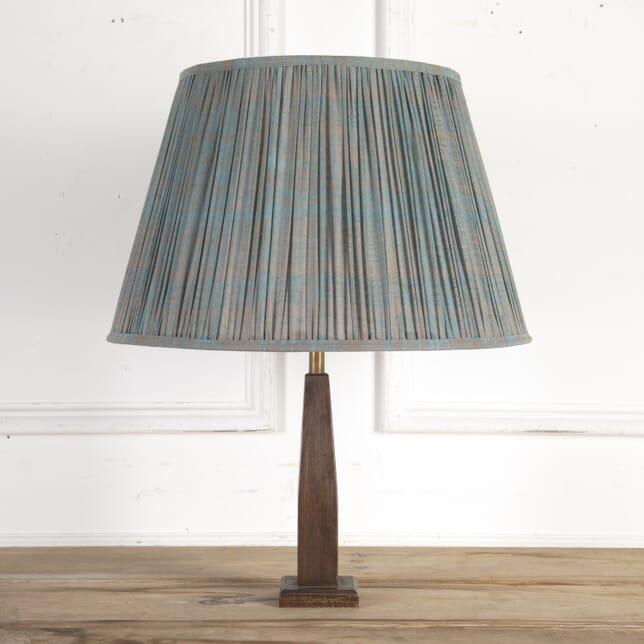 50cm Teal Splatter Cotton Lampshade DA6614202