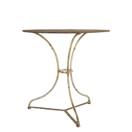 Old White Bistro Table GA7160756