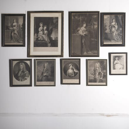 9 Mizo Prints in Hogarth Frames WD3610269