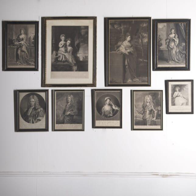 9 Mizo Prints in Hogarth Frames WD3610269