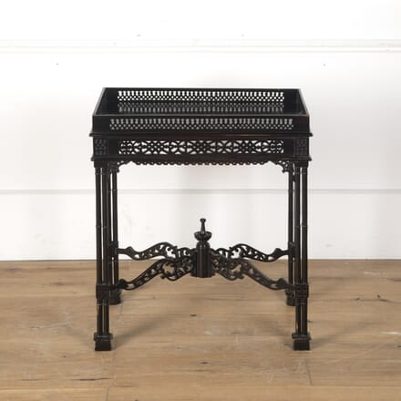 Aesthetic Movement Ebonised Side Table CO5913368