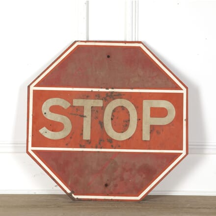 American Red STOP Sign DA3513238