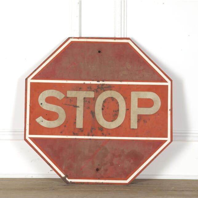 American Red STOP Sign DA3513238