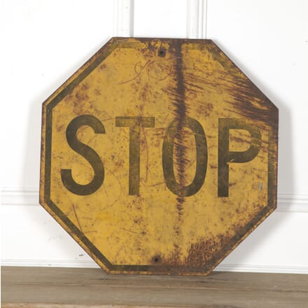 American Yellow STOP Sign DA3513239