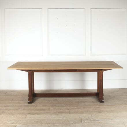 Arts & Crafts Cotswold School Oak Refectory Table TD0512553