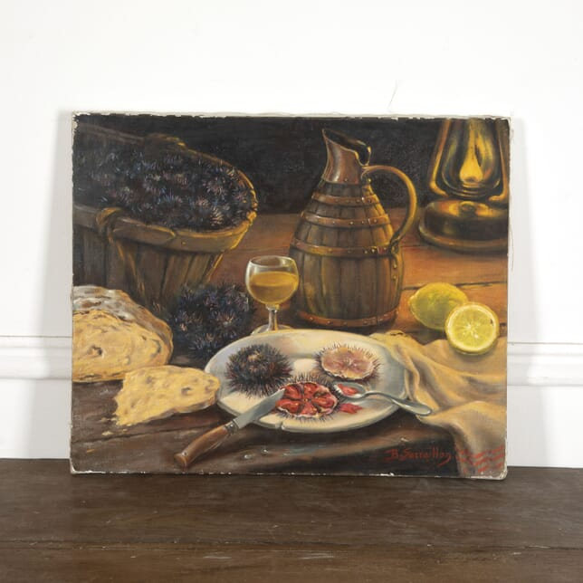 'Au Petite Matin' Signed Still Life WD1512990
