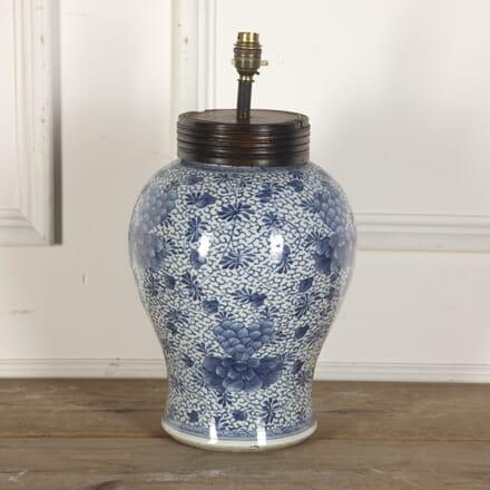 Chinese Baluster Vase Lamp LT9012947