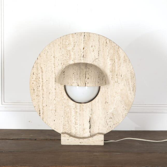 Circular Travertine Lamp LT3013190