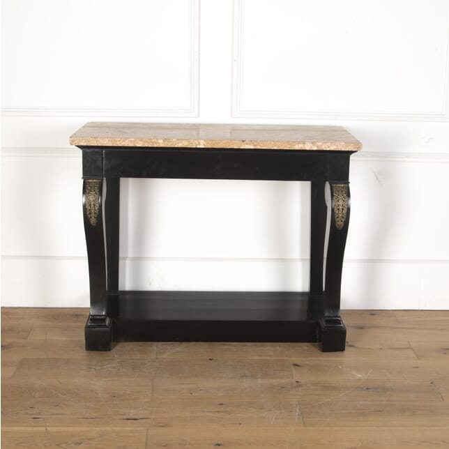 Console Table with Pink Marble Top CO7313381
