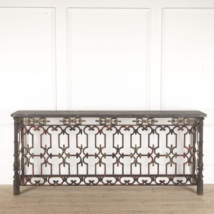 Early 19th Century French Balcony Console CO6013306