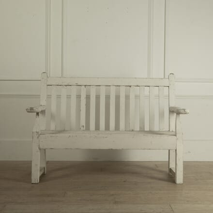 Early 20th Century Garden Bench By William Woods SB0912090