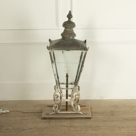 English Copper Lantern LL9212056