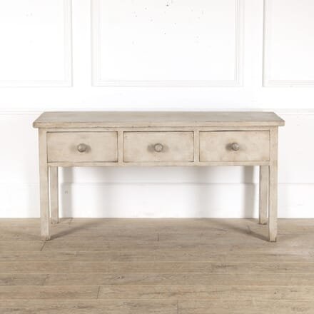 English Painted Pine Dresser Base CO4312962