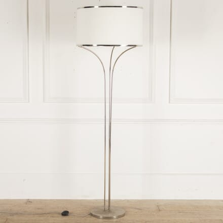 French 1970s Chrome Standard Lamp LF4812722