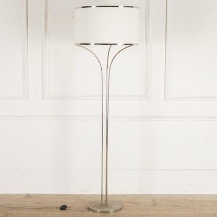 French 1970s Chrome Standard Lamp LF4812722
