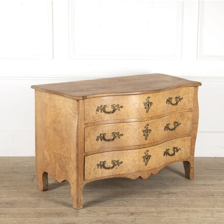 French 19th Century Burr Elm Commode CC4812750