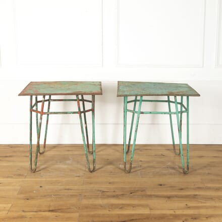 Pair of French Painted Bistro Tables TA3513240