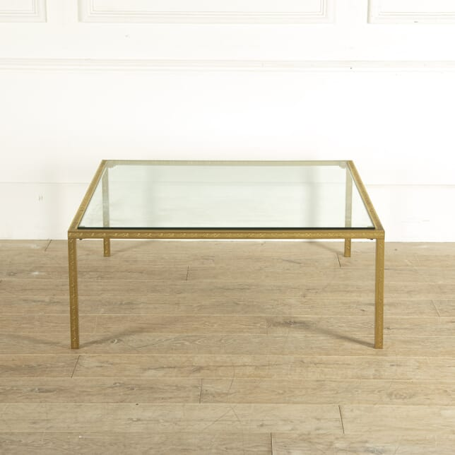 French Brass Coffee Table CT3512434