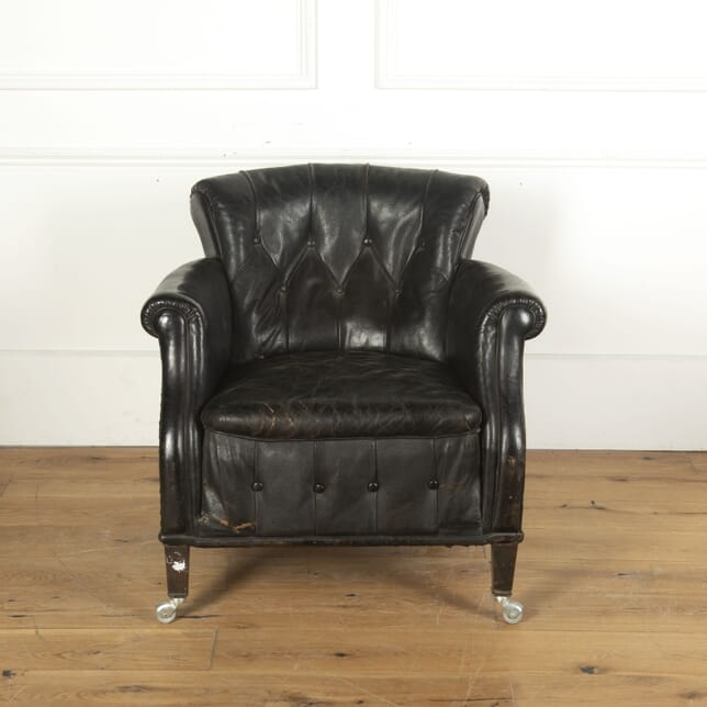 French Leather Chair CH5512516