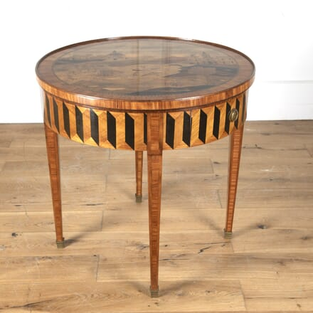 French Marquetry Games Table DA7313377
