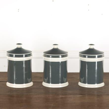 Glazed Apothecary Jars c.1900 DA9013217