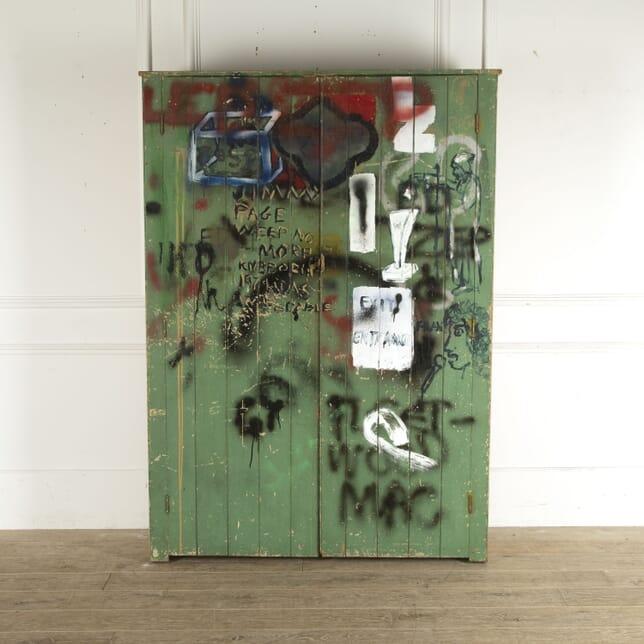 Graffitied School Cupboard BU3512438