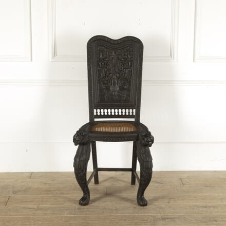 Grand Anglo Indian Chair CH7812296