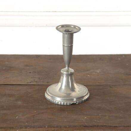 Gustavian Tin Candlestick DA9013208